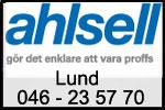 Ahsell i Lund