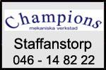 Champions i Staffanstorp